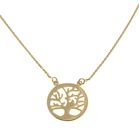 Passport to Gold 14K Tree of Life Necklace