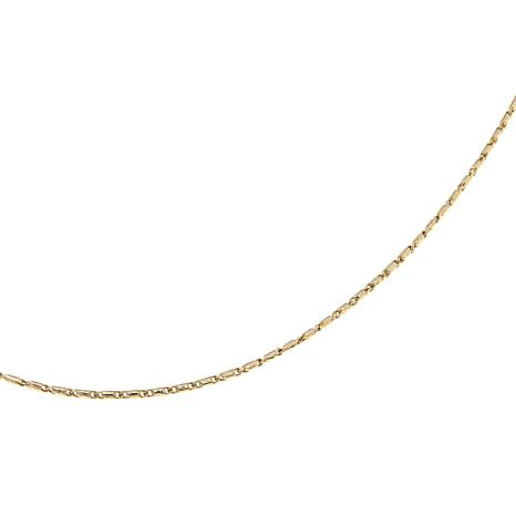 "Passport to Gold 14K Yellow Gold 16"" Lumina Chain"