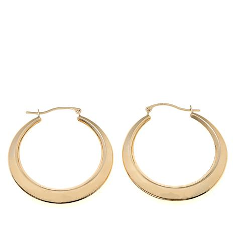 Passport to Gold 14K Yellow Gold Round Hoop Earrings