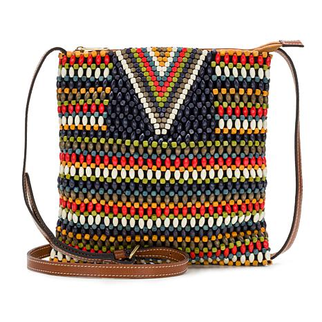 Patricia Nash Adra Beaded Crossbody Pouch