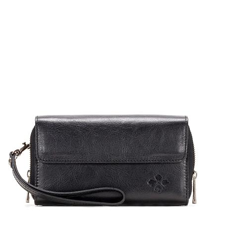 Patricia Nash Cecita Leather Wristlet Wallet