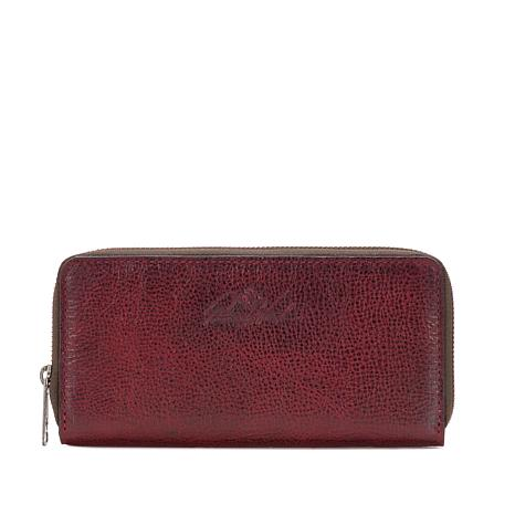 d3be34c5f413 Patricia Nash Lauria Leather Zip-Around Wallet