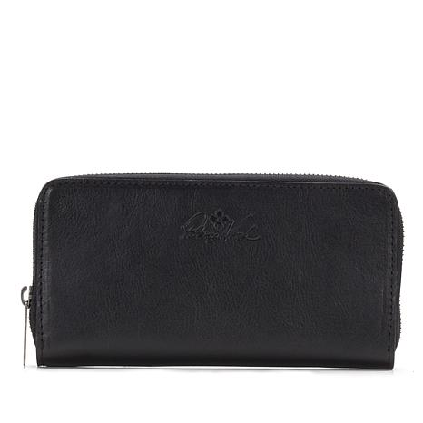 731c10dcb82af Patricia Nash Lauria Leather Zip-Around Wallet with RFID Technology -  8594760