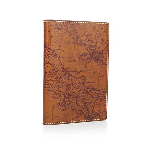 Patricia Nash Map Leather Vinci Journal