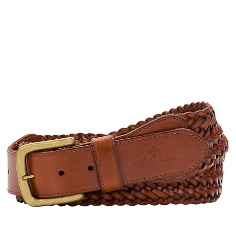 Patricia Nash Nevio Braided Leather Belt