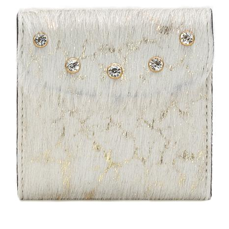 Patricia Nash Reiti Hair Calf and Leather Bifold Wallet