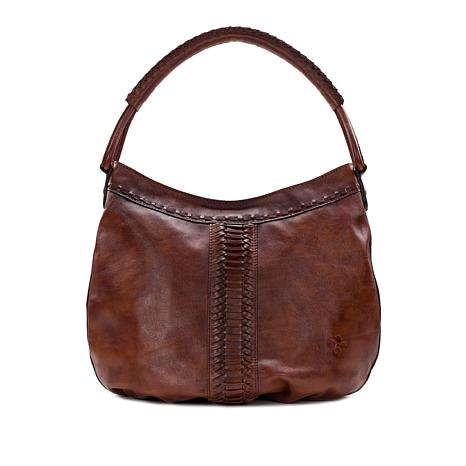 7688d27e7b Patricia Nash Riano Leather Hobo - 8830819