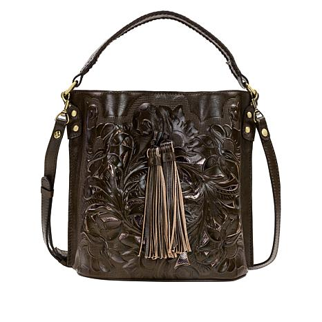 Patricia Nash Torresina Leather Bucket Bag