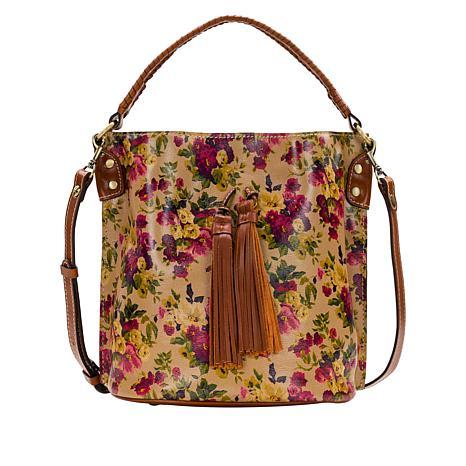 Patricia Nash Torresina Leather Bucket Bag