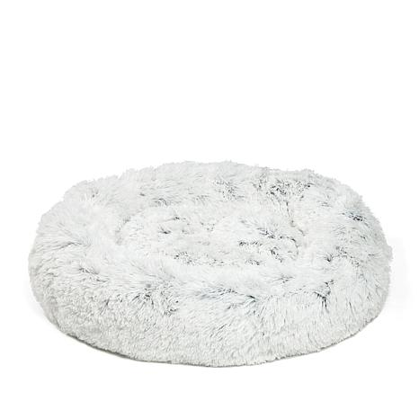 Pawsh Donut Shag Pet Bed - Large