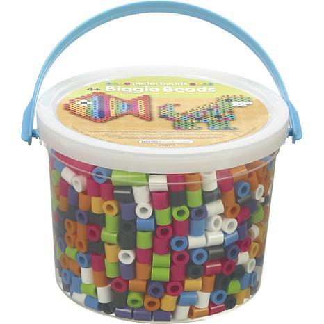 Perler 1,200-count Biggie Beads Bucket - Assorted Colors