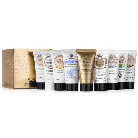 Perlier 9-piece Honey Hand Cream Set