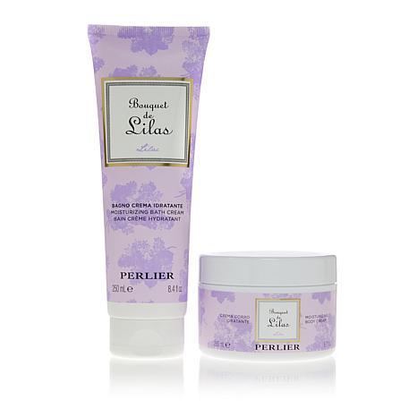 Perlier Bouquet of Lilac 2-piece Bath and Body Set