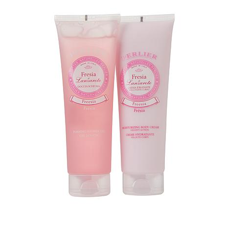Perlier Freesia 2-piece Bath and Body Set