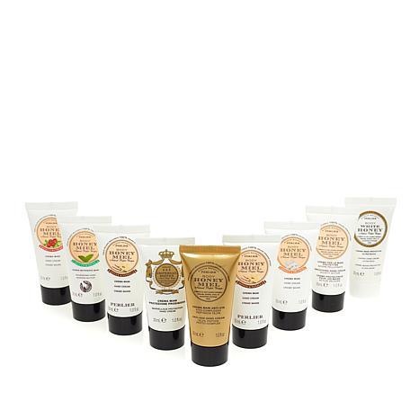Perlier Honey 9-piece Mini Hand Cream Set