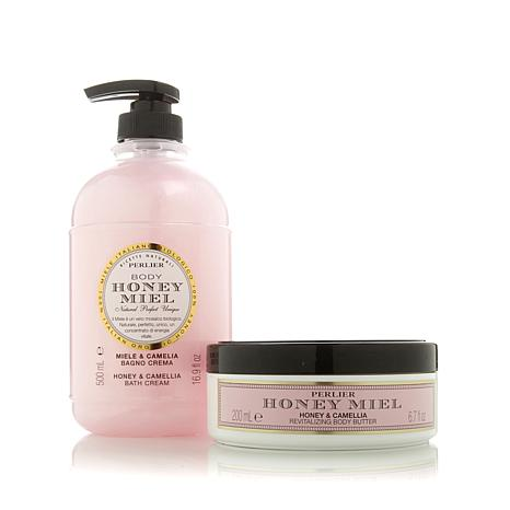 Perlier Honey & Camellia 2-piece Kit