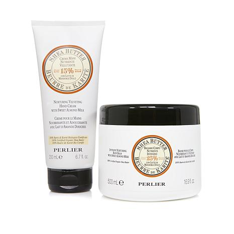 Perlier Shea Butter Body Balm and Hand Cream
