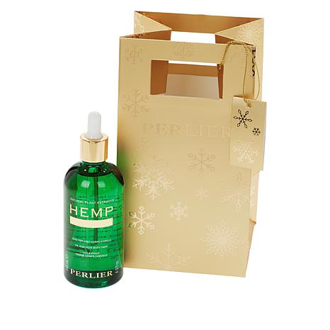 Perlier Supersize Hemp Seed Oil with Bag