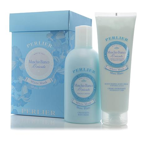 Perlier White Musk Shower Cream and Body Cream