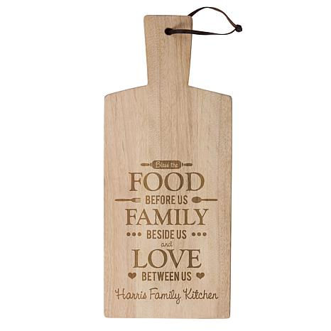Personal Creations Happy Home Wood Chopping Board