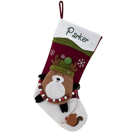 "Personalized 20"" Snowcap Character Stocking - Reindeer"