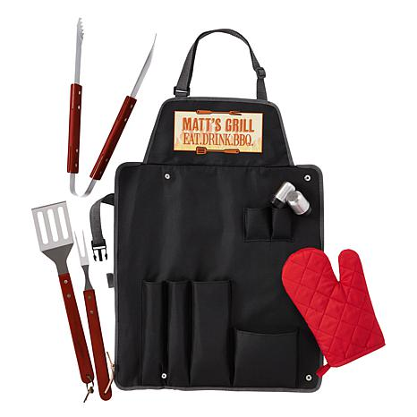 Personalized 7-Piece Grill Master Set