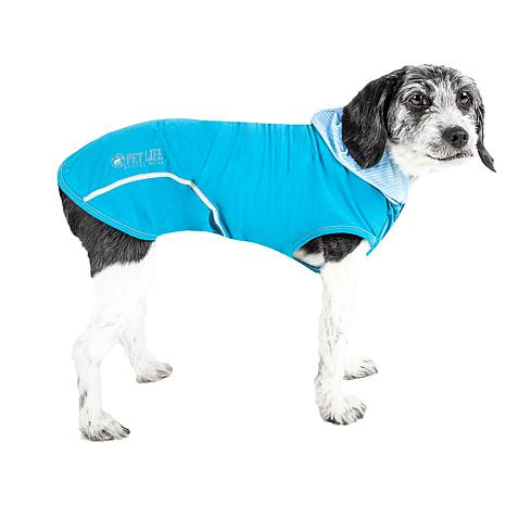Pet Life Active Pull-Rover Two-Toned Sleeveless Dog T-shirt