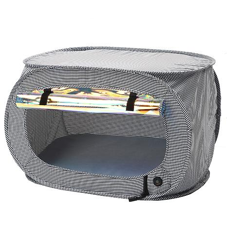 Pet Life Enterlude Electronic Heating Lightweight Collapsible Pet Tent