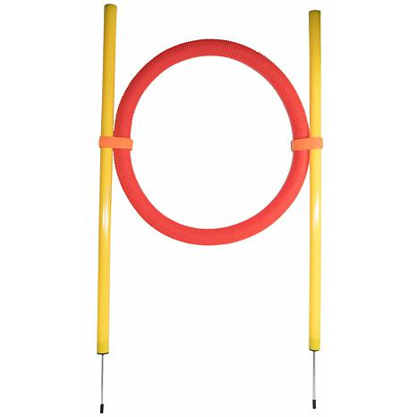 Pet Life Hoop Hopper Collapsible Agility Dog Trainer Kit