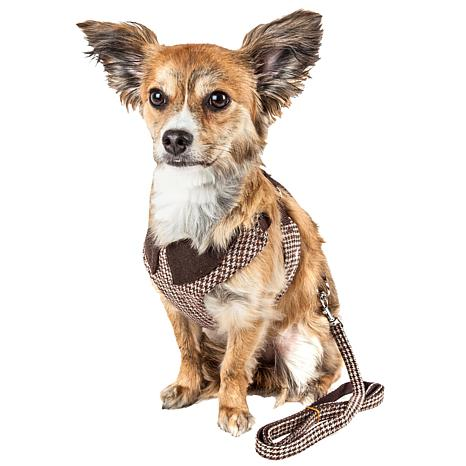 Pet Life Mesh 2-in-1 Reversible and Adjustable Dog Harness-Leash