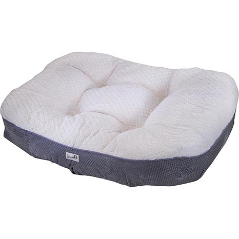 Petlinks Dreamer Premium Pet Bed with Memory Foam Cushion - Gray