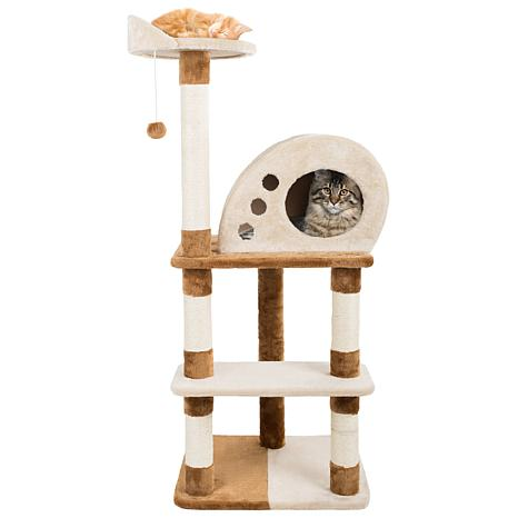 Petmaker 4 Tier Cat Tree Scratching Posts Cat Condo Bed And Toy