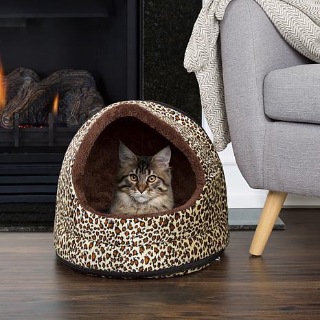 PETMAKER Cozy Canopy Pet Cave Bed