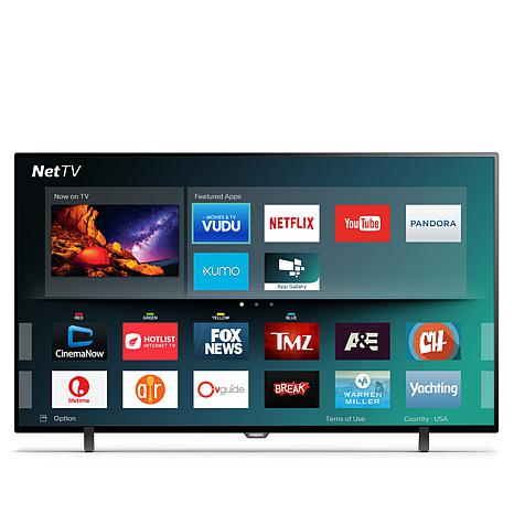 """Philips 55"""" 4K Ultra HD Smart TV with HDR and Net TV"""