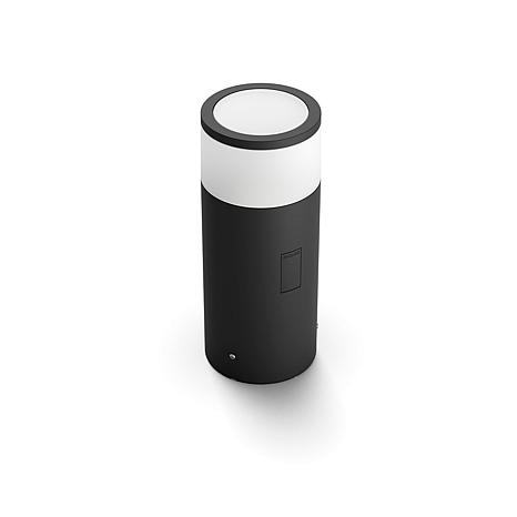 Philips Hue Outdoor White and Color Ambiance Calla Bollard Light