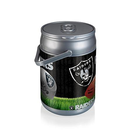picnic time can cooler oakland raiders 7392441 hsn