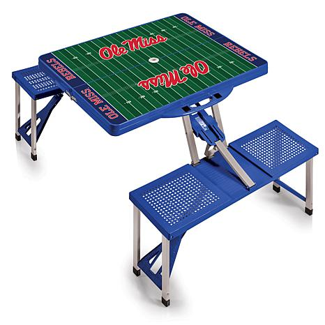 Picnic Time Picnic Table - University of Mississippi