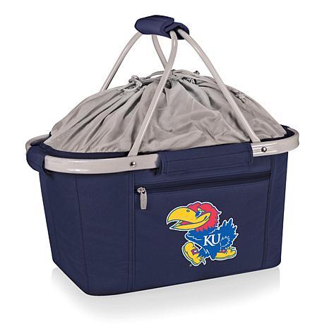 Picnic Time Portable Metro Basket - Un. of Kansas