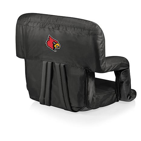 Picnic Time Ventura Seat - U of Louisville - Black