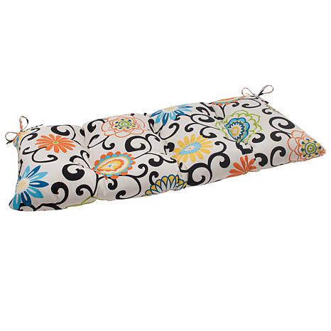 Pillow Perfect Wrought Iron Loveseat Cushion