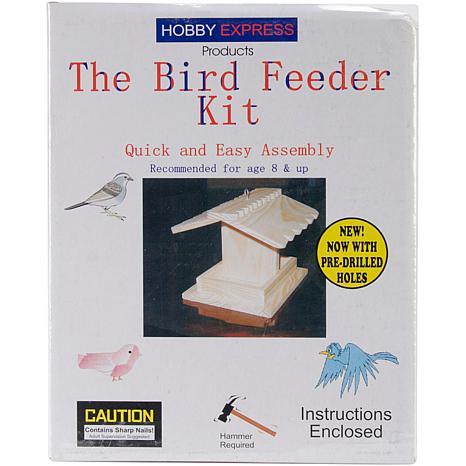 Pinepro Bird Feeder Kit - Unfinished