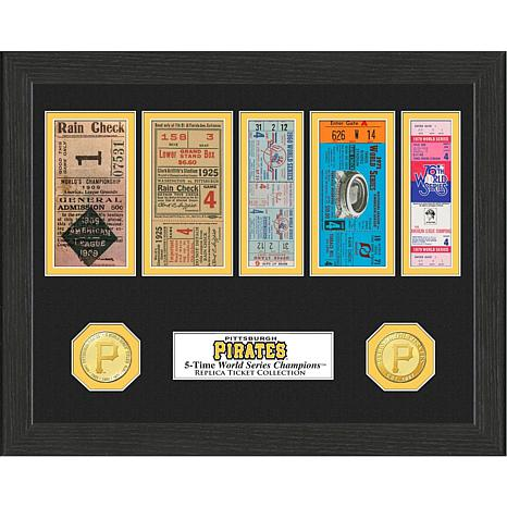 Pittsburgh Pirates 5-Time World Series Ticket Collection
