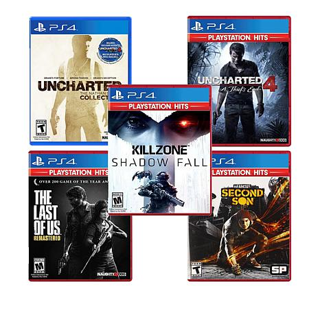 Playstation 4 Greatest Hits 5 Games 8821089 Hsn