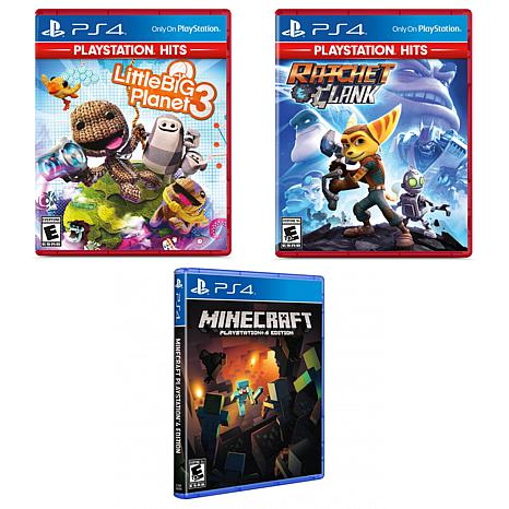 PlayStation 4 Greatest Hits Games Including 3 Games