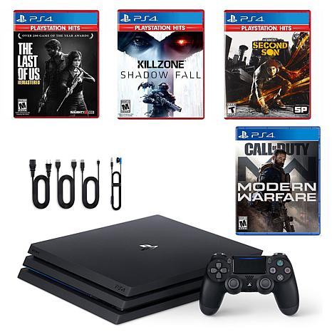 PlayStation 4 Pro Call of Duty Console with Killzone, Infamous, and...