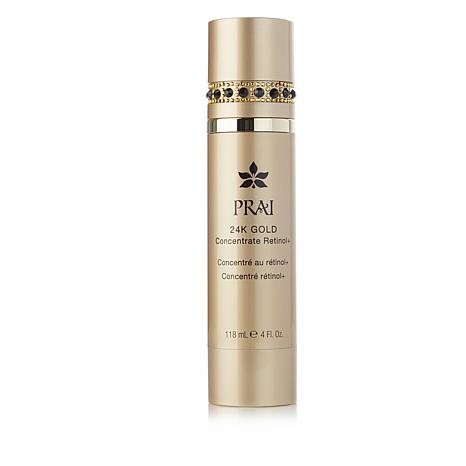 PRAI 24K Gold Concentrate Retinol+ with Black-Bejeweled Cap