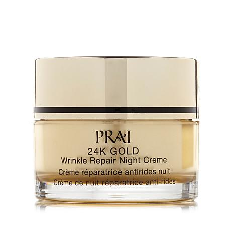 PRAI 24K Gold Wrinkle Night Creme - 1 fl. oz.