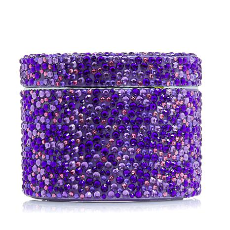 PRAI Ageless Throat and Decolletage Creme in Purple Sparkle Jar
