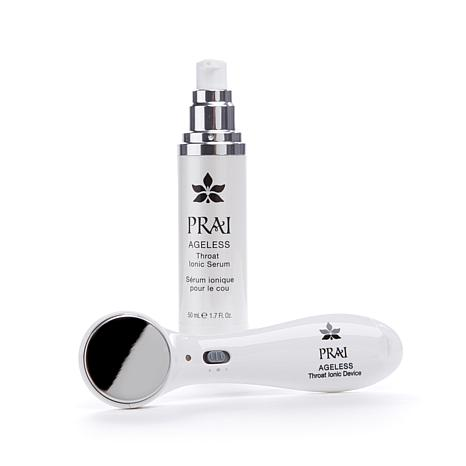 PRAI Ageless Throat Ionic Device and Supersize Serum