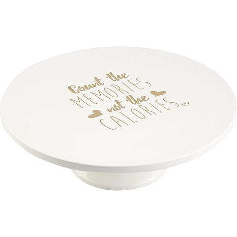 Precious Moments Count The Memories Not The Calories Cake Stand